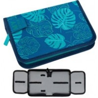 Pencil case with two flaps STARPAK My Style, blue