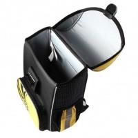 Backpack for beginners ERICHKRAUSE FOOTBALL TIME, black/yellow