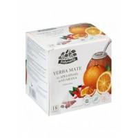 Žolynėlis Yerba mate tēja ar apelsīnu un guaranu 21,6g (1,2gx18 )