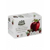 Žolynėlis tēja ar āboliem un dzērvenēm 50g (2,5g x20),  (4770161095172)