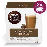 Kafijas kapsulas NESCAFE Dolce Gusto Café Au Lait Intenso 16 Cap 1psc.,  (12398943)