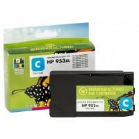 Compatible Static-Control HP Ink No.953 XL Cyan (F6U16AE) New chip