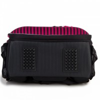 Backpack for beginners KITE PARIS 38x29x16cm, black with pink details