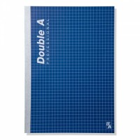 Notebook Double A Professional, Linen A5, 70g 40 sheets 4th Pastel,  (A8858741732177A/EOL)